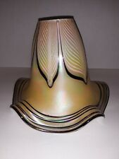 Todd Phillips Signed Blown Glass Lamp Shade