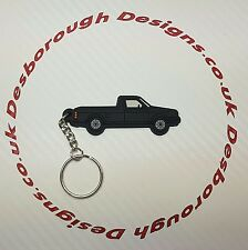 VW Golf Mk1 Caddy Key Ring Black