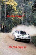 Sandro Munari Alitalia Lancia Stratos HF Ganador Rally Portugal 1976 fotografía 1
