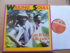 Wailing Souls, Lay it on the line LP M (-)/M-LIVE & Learn Rec ll LP 024 Inghilterra'86