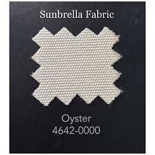 "Sunbrella Fabric 46"" Wide Oyster 1 Yard"