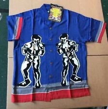 Large Blue Boxer RARE MAMBO LOUD SHIRT Australian Hawaiian