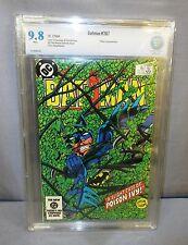 BATMAN #367 (Poison Ivy appearance) White Pages CBCS 9.8 DC Comics 1984 cgc