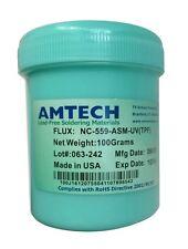 AMTECH NC-559-ASM-UV(TPF) 100g Solder Flux  Paste + Brush For BGA  SMD Reballing
