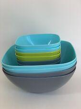 10 Piece Durable Pasta / Cereal / Salad Bowl Set .5 L/1.9 L Reusable & BPA Free