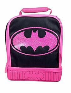 Thermos Batman Pink Logo Dual Soft Lunch Box