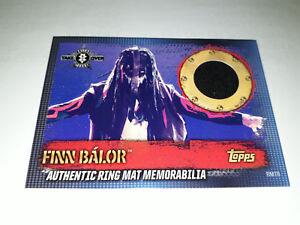 Topps WWE Slam Attax 10th Ring Mat Relic memorabilia Finn Balor NXT Takeover