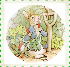 Peter Rabbit Ceramic Knob Pull 12 images Avail. Handle Nursery Child Baby POTTER