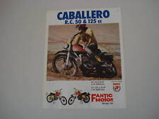 advertising Pubblicità 1975 FANTIC CABALLERO RC  50/125