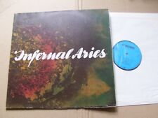 INFERNAL ARIES,FIRST CHECK lp m-/vg(+) foc, al records RP 10.121 Germany