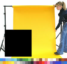 ULTRA BLACK Creativity Photographic Background Paper 1.35 x 11m Roll - 101245