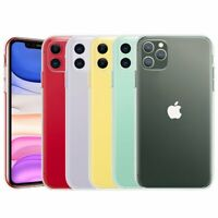 For iPhone 11, 11 Pro, 11 Pro Max Case Clear Transparent Slim Protective Cover