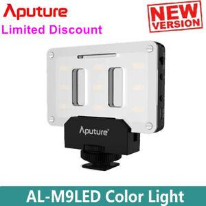 Aputure Amaran AL-M9 Pocket LED Video Light CRI/TLCI 95+ Studio Fill Light Panel