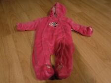 Infant Size 3-6 Months Disney Baby Minnie Mouse Pink Snow Suit Pram Thick Warm