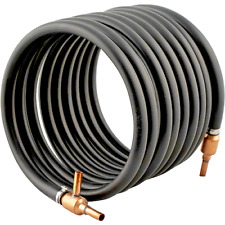 Wort Chiller - Copper Counterflow Chiller (3/8 in. tube) - Homebrew Beer