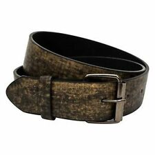 Men's Faux Leather Belts