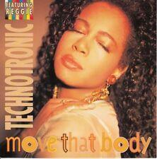 "TECHNOTRONIC - Move That Body - 12"" 1991 - Like New"