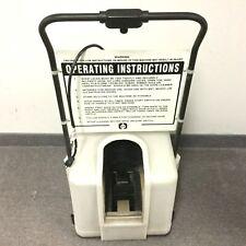Liberty Model 2001Tb Motorized Cleanroom Shoe Cleaning Machine 120Vac 60Hz 1/3Hp