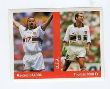figurina DS CALCIATORI WORLD CUP FRANCE 98 NUMERO 272 U.S.A. BALBOA, DOOLEY