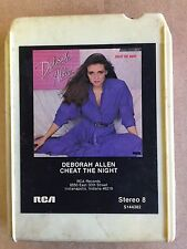DEBORAH ALLEN VINTAGE 8 TRACK TAPE CHEAT THE NIGHT