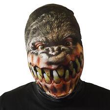 MACABRO GORILLA GRAN SORRISO Halloween Maschera Costume adulti spaventosa LYCRA
