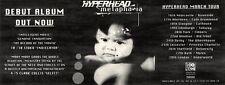 "13/3/93PGN04 HYPERHEAD : METAPHASIA ALBUM/TOUR ADVERT 4X11"""