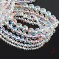 Round Transparent AB CZ Crystal Beads For Jewelry Making 4mm 6mm 8mm 10mm  12mm bbc4f02f3817