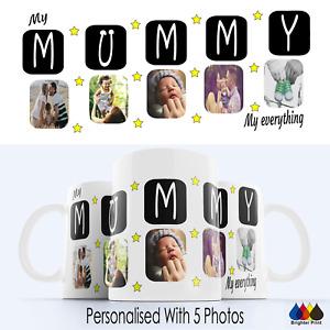 Mummy Mug Cup Best Mum Personalised Gift Birthday Present Mothers Day