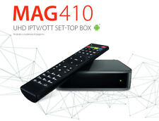 Infomir MAG 410 UHD 4K Video Android IPTV Receiver mit Stalker,Wi-Fi,Bluetooth