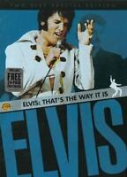 ELVIS: THAT'S THE WAY IT IS USED - VERY GOOD DVD