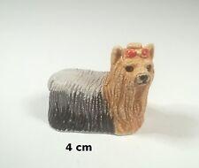chien miniature en céramique ,collection, vitrine, hondje, dog   G-chiens-W18
