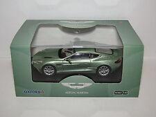 OXFORD Diecast 1/43 AMV001 Aston Martin Vanquish Coupé Appletree Vert.