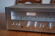Vintage 1977 Hitachi SR-503L receptor de AM-FM Estéreo