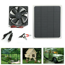 Solar Panel 20W 12V Charge Battery Charger Kit Maintainer Marine Boat RV Car Fan