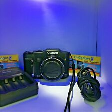 Canon PowerShot SX160 IS 16.0MP Digital Camera with Charger *GREAT COND * BLACK