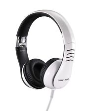 WHITE CASIO XWH2 HEAD PHONES PRO XW-H2 DJ IPOD FOLDABLE HEADPHONES EAR PHONES