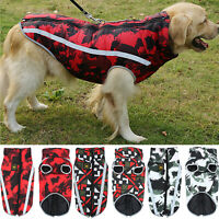 Large Dog Winter Coat Waterproof Pitbull Clothes for Big Dogs Pets Doggy Jackets