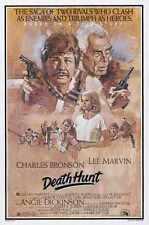 Death Hunt Poster 01 Metal Sign A4 12x8 Aluminium