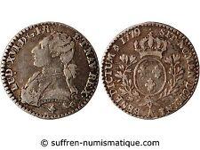 LOUIS XVI - 1/10 ECU AUX BRANCHES D'OLIVIER 1779 A PARIS