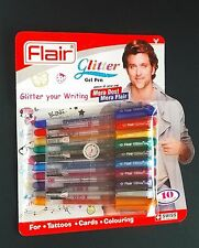 50 x-Flair-Glitter-Sparkle-Gel-Pen-Pack-of-50-Pcs-Original-Free-Ship-New