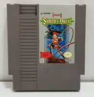 Castlevania II 2 Simon's Quest Konami NES Nintendo Original Game CLEAN TESTED