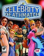MTV celebrity DEATHMATCH PC computer Game CD-ROM WINDOWS 2000 98 ME NT XP