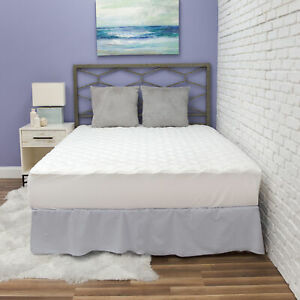 BioPEDIC Mattress Pad with Antimicrobial Ultra-Fresh Treated Fabric