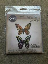 Tim Holtz Sizzix Thinlits Detailed Butterflies Die Set *NEW* #661182