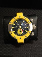 Invicta Mens 13061 S1 Rally Chronograph Black/Yellow Watch  EYE CATCHER