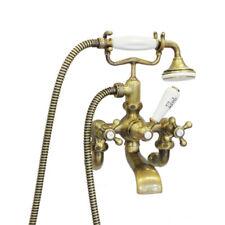 Nostalgische Messing Wannenarmatur Badarmatur Wasserhahn Badewanne - RETRO Look