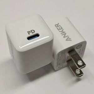 Nice Anker Powerport PD Nano 20W USB-C Wall Charger for iPhone, Samsung (2Pack)