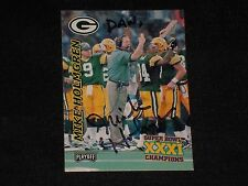 MIKE HOLMGREN 1997 PLAYOFF SIGNED AUTOGRAPHED CARD #6 GB PACKERS COACH