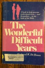 The Wonderful Difficult Years De Haan, Richard W., Lugt, Paperback