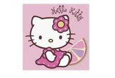 ♥ LOT 2 SERVIETTES EN PAPIER PAPER NAPKINS CHAT CAT HELLO KITTY A54 ♥